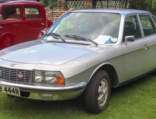 NSU Ro 80 auto estrella del Salón de Fránkfurt de 1967 y uno de los más revolucionarios del siglo XX.