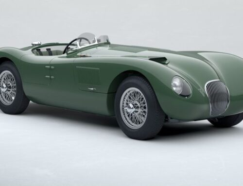 El nuevo Jaguar C-Type «continuation car» recupera el icono de las competencias de los años 50