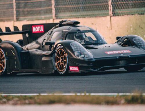 WEC….Glickenhaus satisfecho con el primer día de ensayos en pista del LMH Car…continuarán las pruebas el viernes 26 después de un primer shakedown «bastante positivo» …