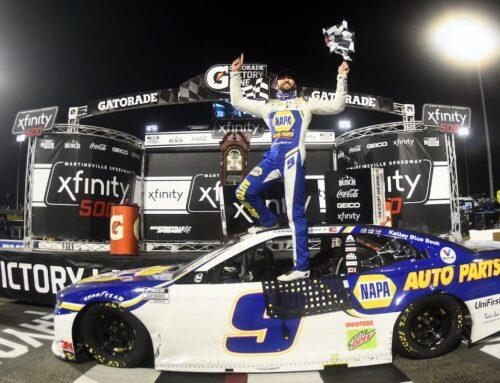 Nascar….Chase Elliott (Chevrolet) logra la pole para la segunda competencia en Daytona (circuito mixto) luego de una clasificación con extraño reglamento.