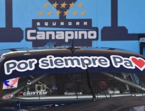 Turismo de Carretera…se realizó el homenaje completo al triunfar Agustín Canapino en La Plata adjudicándose el trofeo «Alberto Canapino».