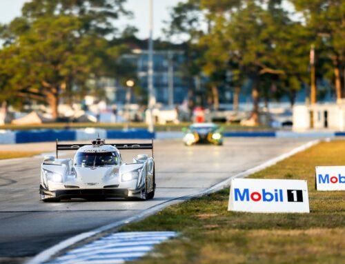 12 Horas de Sebring: El Cadillac DPi #01 del Chip Ganassi Racing es el líder a mitad de competencia.
