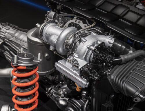 Garrett crea un turbocompresor electrificado que le permite al motor AMG de 2.0 litros de 4 cilindros alcanzar potencias nunca pensadas en un auto de serie.