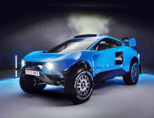 Del Dakar a auto de calle…El BRX Hunter T1 del Rally Dakar tendrá una versión «civil» con 500 Hp.