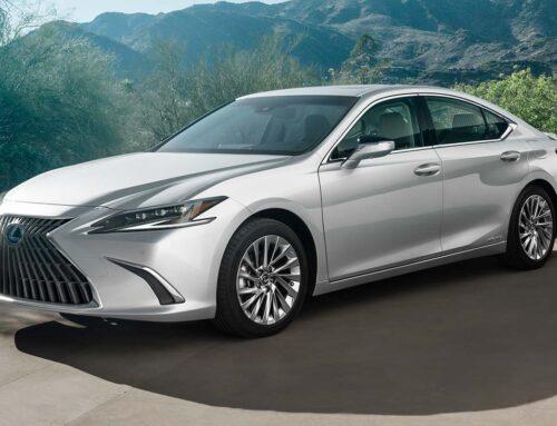Lexus ES 2022 actualizado para el MY2022.