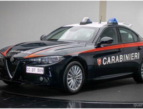 Alfa Romeo Giulia para continuar la tradición del Nucleo Radiomobile dei Carabinieri italiano.