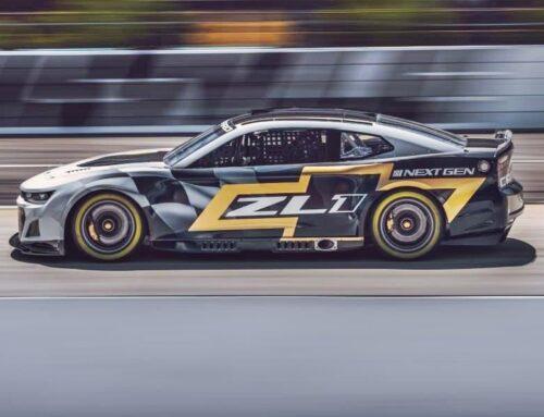 Chevrolet Camaro ZL1 para la nueva era del NASCAR más similar en su estilo al de producción.