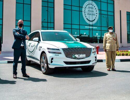 SORPRENDENTES AUTOS DE LA POLICÍA DE DUBAI…