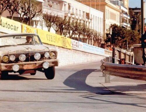 Ford Falcon 1964 Rallye de Monte-Carlo 1964 oficial de fábrica…fué localizado en Suecia y está a la venta.