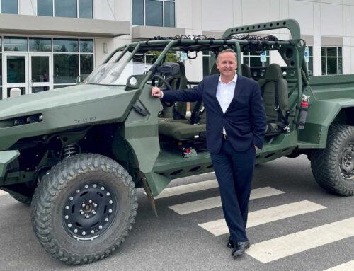 GM Defense presenta un vehículo de infantería eléctrico