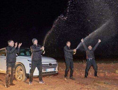 Un Hyundai Nexo con fuel cell logra un récord mundial de autonomía al recorrer 887 km con hidrógeno.