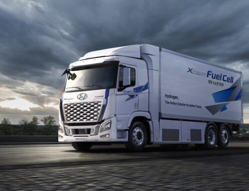 El camión Hyundai XCIENT Fuel Cellaumenta su potencia a 469 CV y logra 400 km de autonomía antes de intentar su comercialización en la Unión Europea.