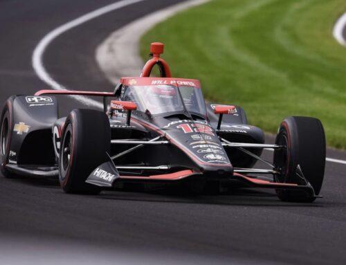 Indy500…primer día de prácticas oficiales. El mejor tiempo fué para Will Power (Dallara DW12-Chevrolet/Penske)