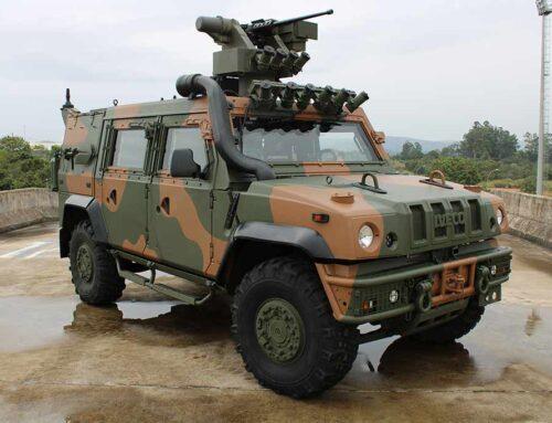 Iveco Defense aumenta sus clientes…entrega el primer LMV-BR al Ejército brasileño