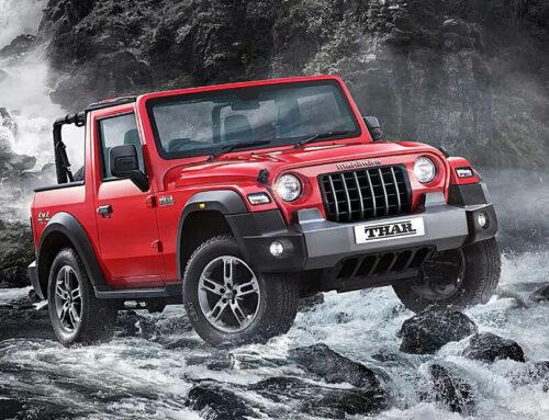 MAHINDRA THAR…el nuevo Thar se parece cada vez más al Jeep, ha sido muy mejorado técnicamente y cuesta un tercio.