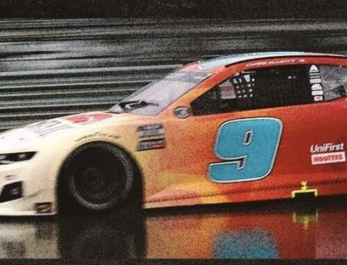 NASCAR: Chase Elliott triunfa en un GP de Texas acortado por la lluvia en el circiuto de las Américas COTA de Texas.