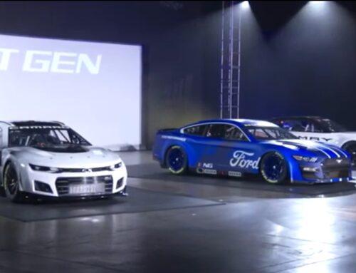 NASCAR… se muestra la Next Gen. Se presentaron los autos de los tres fabricantes con nuevos diseños de carrocería y renovada tecnología.