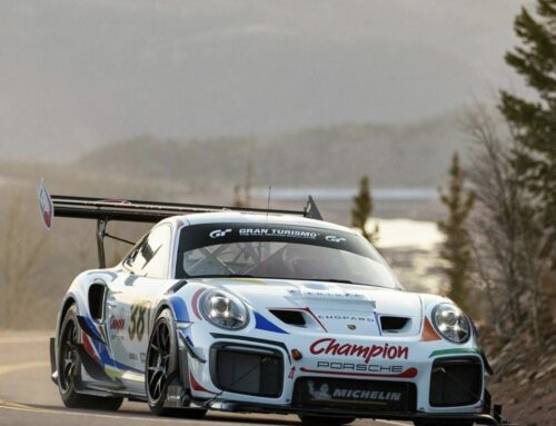 Pikes Peak 2021: el Porsche 911 GT2 RS que el Campeón de Pikes Peak Romain Dumas usará este año muestra sus colores