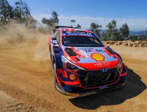WRC Rally de Portugal…Hasta ES11 OttTänak (Hyundai i20) al frente en una mañana perfecta.