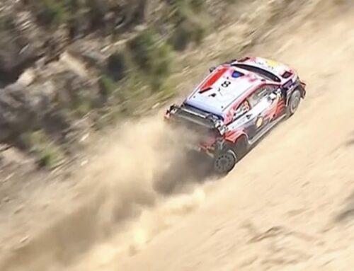 WRC Rally de Portugal…El puntero Tänak (Hyundai) se detuvo, Evans (Toyota) es el nuevo líder