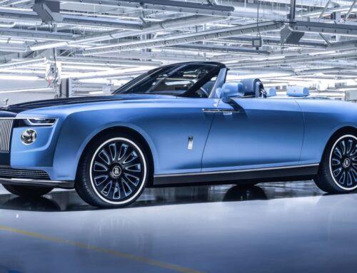 Fue presentado el exclusivo Rolls-Royce «Boat Tail» obra del nuevo departamento de construcción de vehículos especiales de Rolls-Royce.