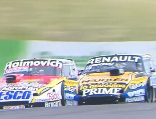 Turismo de Carretera en Paraná (Argentina) Juan Cruz Benvenuti (Torino) superó a Mariano Werner (Ford Falcon) en los últimos metros y logró el triunfo.