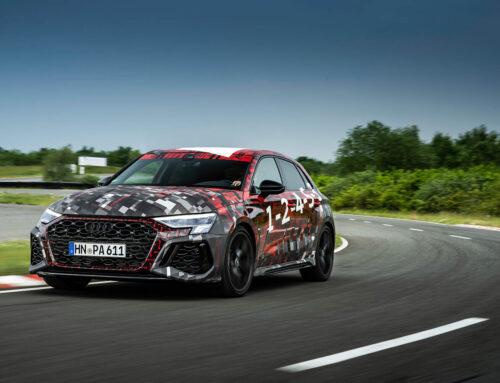 El Audi RS 3 de 400 CV con un novedoso diferencial trasero con reparto activo de par motor, el RS Torque Splitter
