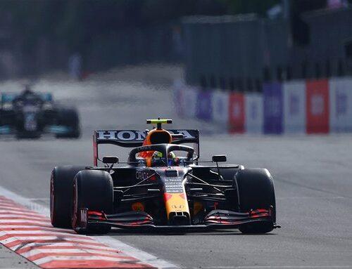 Fórmula uno en Azerebaiyán…triunfo de Sergio Pérez, su primera con Red Bull