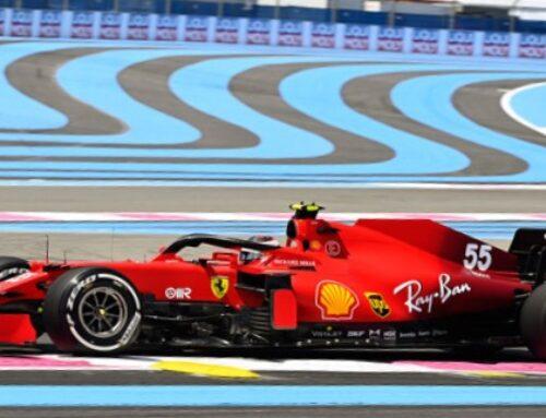 Ferrari corre en el GGPP de Francia sin la publicidad de su principal sponsor…