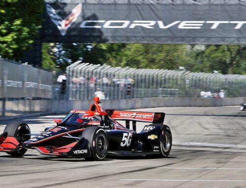 Will Power (Dallara-Chevrolet-Penske) fue el más veloz en el único entrenamiento que la IndyCar en las calles de Detroit.