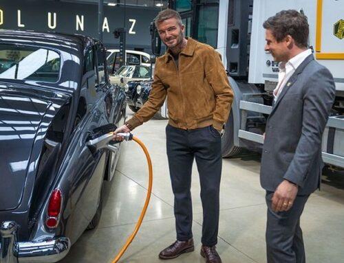 David Beckham compra un 10% de las acciones de la startup británica de autos eléctricos Lunaz