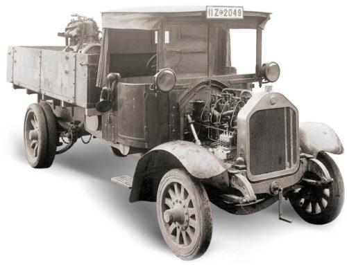 Historia industrial…100 años de los primeros camiones Diésel de MAN, Daimler y Benz. Dieron comienzo a una tecnología que hoy lentamente comienza su retirada…
