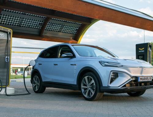 El nuevo SUV chino MG Marvel R Electric fabricado por SAIC ya se vende en Europa.
