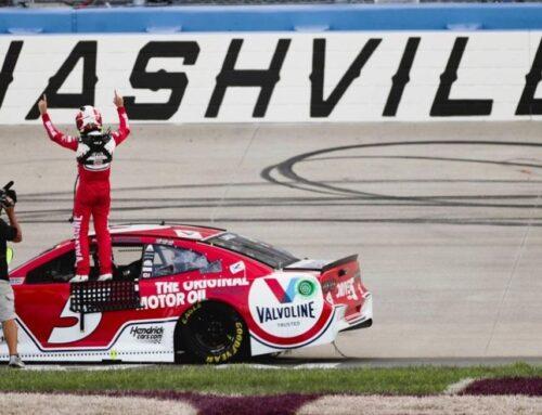 NASCAR…nueva victoria de Kyle Larson (Chevrolet Camaro) en Nashville