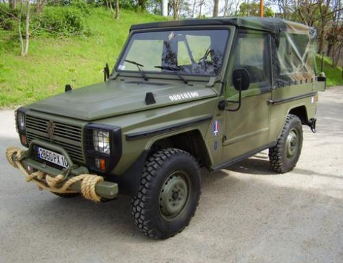Historia…Peugeot P4 (1981) un interesante y efectivo 4×4 que tuvo actuación tanto en el ámbito militar, en el civil y también en la competición.