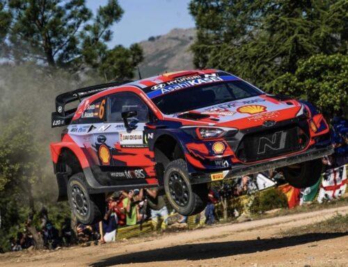 WRC Rally de Italia 2021 Ott Tänak (Hyundai) lidera en Cerdeña al finalizar el viernes con Dani Sordo segundo.