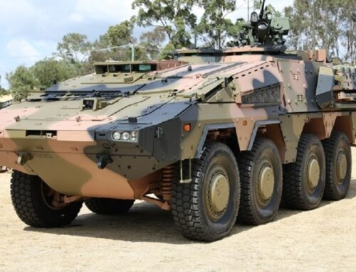 Rheinmetall CRV Boxer 8×8 powered by MTU Diésel made in Germany
