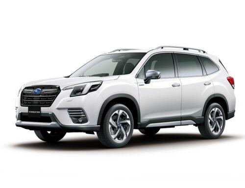 Subaru Forester 2022 con facelift fué presentado en Japón con un frente ligeramente rediseñado y nueva tecnología