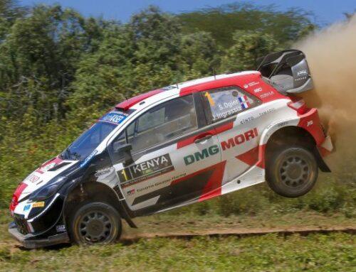 WRC Rally de Kenia 2021…TRIUNFO DE SÉBASTIEN OGIER CON TOYOTA YARIS SEGUIDO POR SU COEQUIPER TAKAMOTO KATSUTA