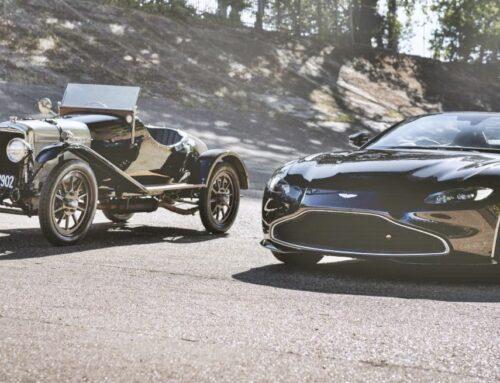 El Aston Martin Vantage Roadster rinde homenaje al chasis más antiguo la marca ( el A3) en su centenario con una personalización única y exclusiva hecha por la división Q by Aston Martin