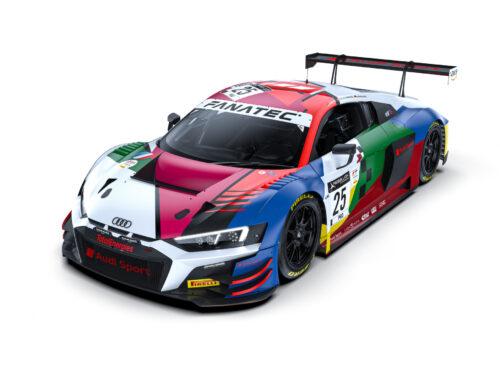 24 Horas de Spa: – Los colores de los cuatro Audi R8 LMS GT3 del equipo Audi Sport harán referencia al centenario del circuito de Spa-Francorchamps.