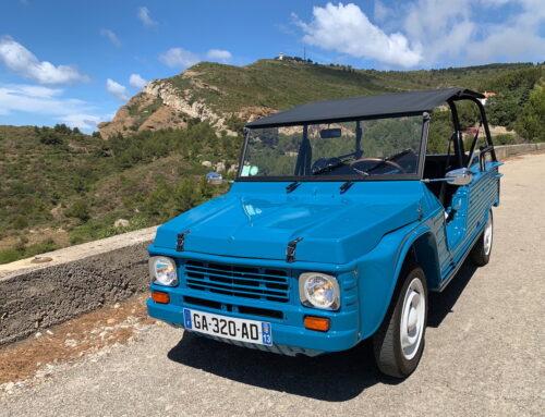 EDEN ELÉCTRIC 2021 inspirado en el Citroën Mehari clásico.