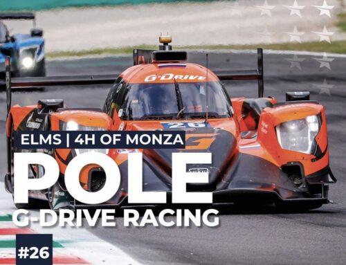 ELMS 4 horas de Monza – Franco Colapinto le otorga la pole al equipo ruso G-Drive Racing (Aurus 01-Gibson LMP2)