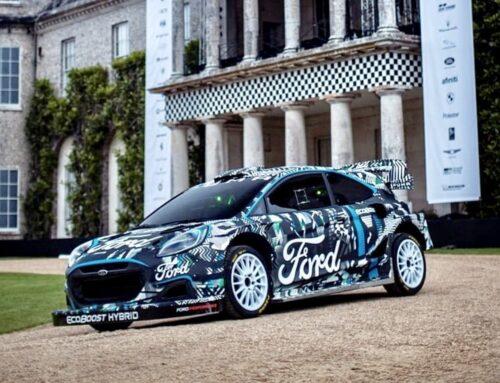 WRC…Ford adopta su SUV Puma Rally1 powered by EcoBoost Hybrid para el 2022 en reemplazo del actual Fiesta WRC.