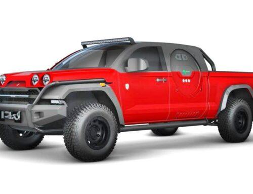 Glickenhaus prepara una camioneta con fuel cell de hidrógeno.