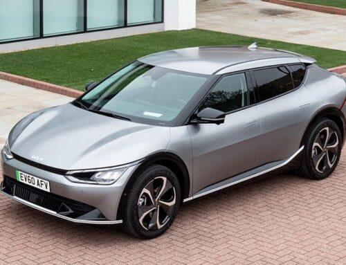 KIA EV6 (2021). Crossover eléctrico con una notable autonomía de 528 kilómetros ya en el mercado europeo.