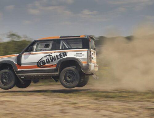 Land Rover Defender by Bowler listo para competición de fábrica.