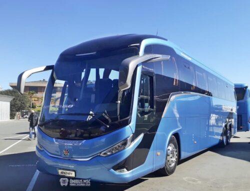 La carrocera brasileña Marcopolo presenta la nueva generación de buses G8