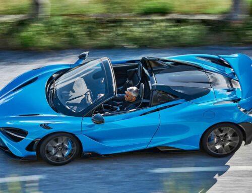 McLaren 765LT Spider: la nueva versión descapotable del 765LT es el cabrio más potente de la marca británica.