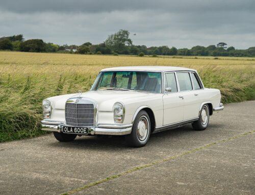 El impecable «Grosse» Mercedes Benz 600 (W100) SWB que fue de George Harrison está a la venta.
